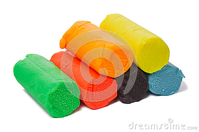 Modeling clay six colors
