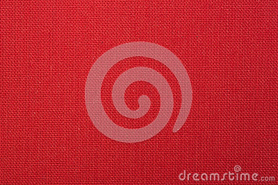 Red Woven Fabric Texture Background