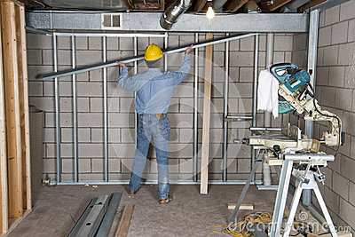 Construction Worker Contractor Handyman Drywall