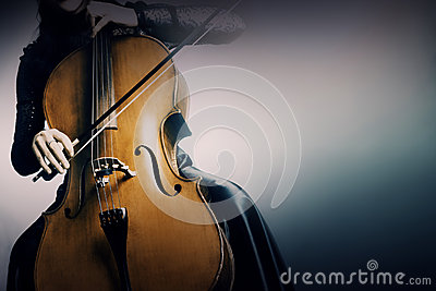 Musical instruments cello