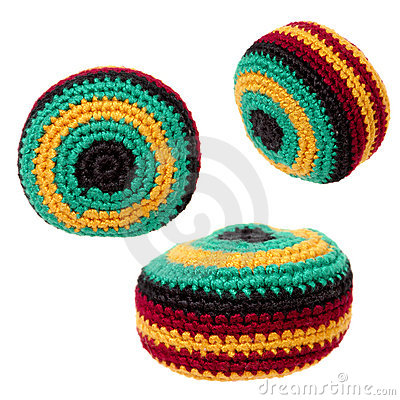 Toys: Hacky Sack or Footbag Trio