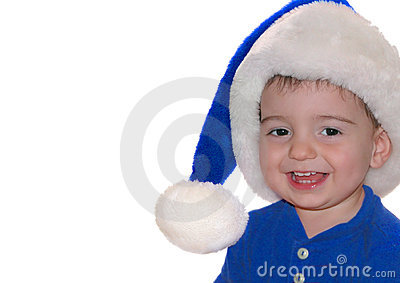 Children: Blue Santa Baby