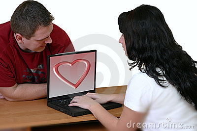 Couple With Laptop 2