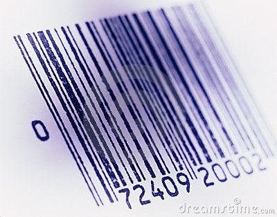 Barcoded image