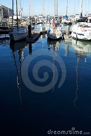 Pier 39 Reflections