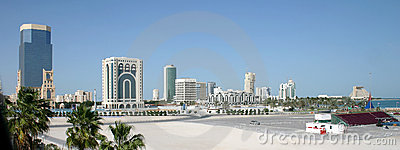 Doha city skyline