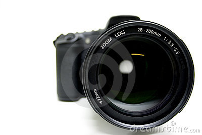 Zoom Lens on Digital Camera