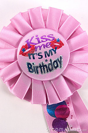 Kiss Me, It's My Birthday