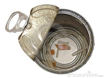 Food: Empty Soup Can