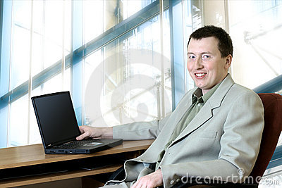 Business People - Man In His Office