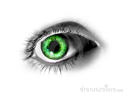 Abstract Green Eye