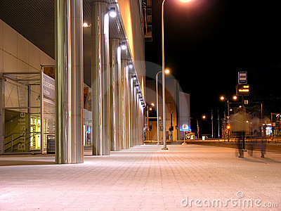 Night street view