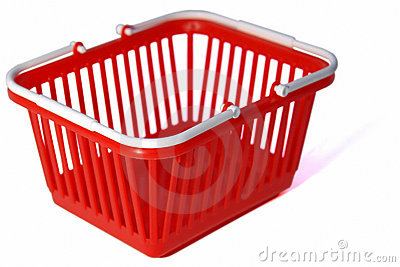 Toy shopping basket