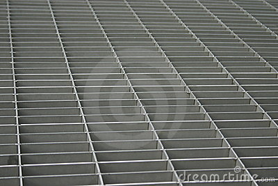 Abstract grille