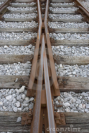 Changing railroad tracks