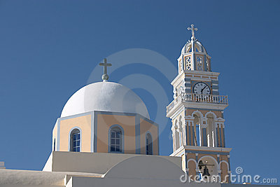 Fira catholic cathedral