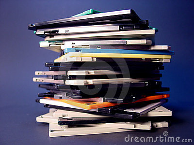 Stack of Floppies