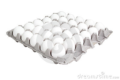 Food: 24 Count Carton of Eggs