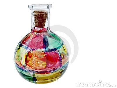 Stained Glass Vase