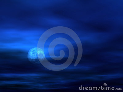 Sky background with Moon [3]