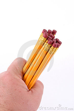 Handful of Pencils