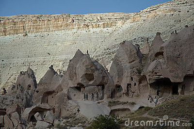 Ancient Quarter at Cappadocia Walley
