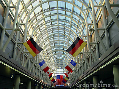 Airport in Chicago