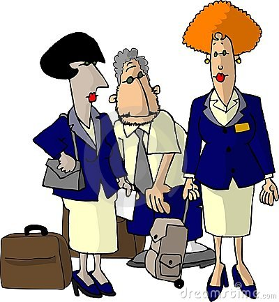 Airline Flight Attendants