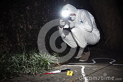 Forensics researcher