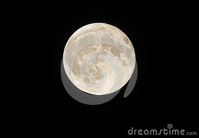 Close to our full moon