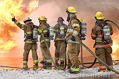 Firefighter Thumbs Up