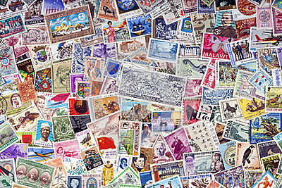 Postage Stamps of the World - Philately
