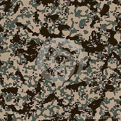 Digital Camouflage Pattern  Seamless Texture