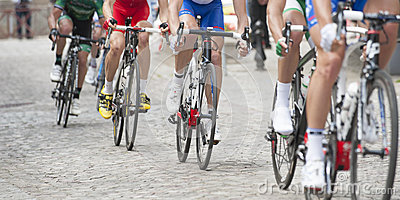 Cycling competition on pavement