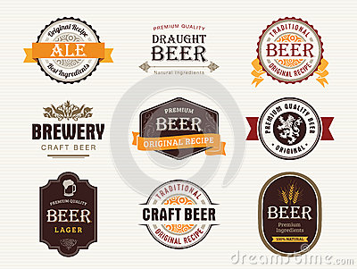 Beer seals and stamps