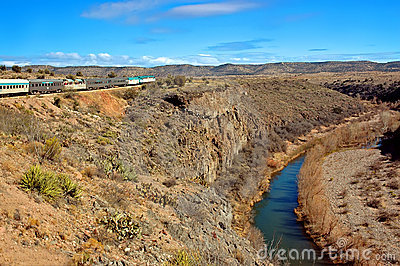 Verde Canyon River and Train