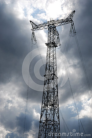 Power line tower