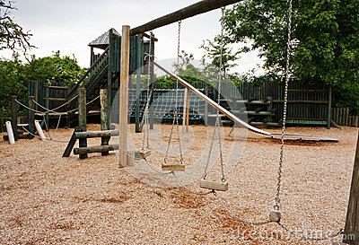 Childs adventure playground