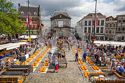 Dutch Cheese Market in Gouda