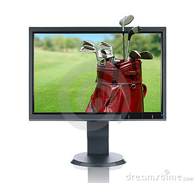 LCD Monitor and Golf