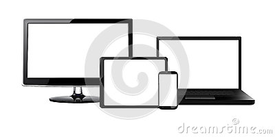 stock image of entertainment devices - xl