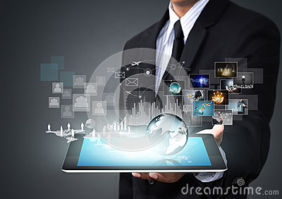 Touch screen tablet with new technology