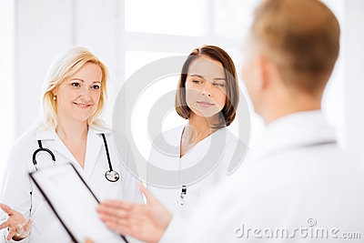 Doctors on a meeting