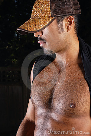 Hairy hispanic