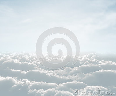 Skyscape with clouds