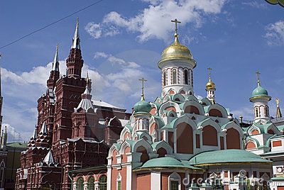 Architecture of the old Moscow