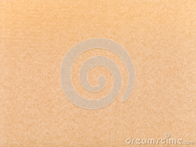 Brown packaging cardboard