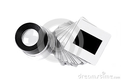 Slide and loupe