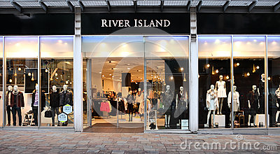 River Island retail store front