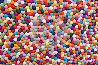 Multicolor Balls of Wool